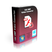 SWF to AVI video converter software for pc